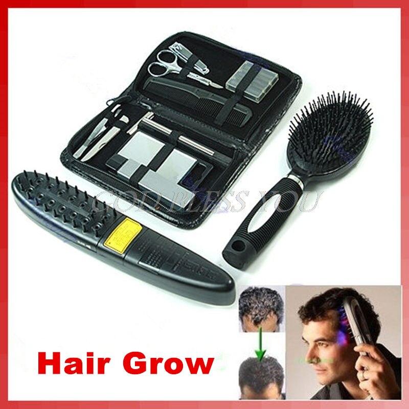 Kostenloser Versand Laser Behandlung Power Wachsen Kamm Kit Stop Haarausfall Heißer Nachwachsen Therapie Neue Verkauf