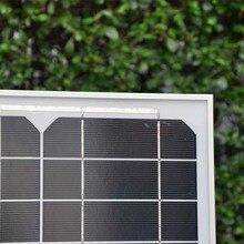 TUV Singfo Solar Panel 12v 40w Charge Controller 12v/24v 10A Led Portable Charger Mobile LM