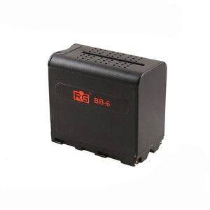 Image 2 - BB 6 6 יחידות AA סוללה מקרה הסוללה מחזיק כוח כמו NP F NP 970 סדרת סוללה עבור LED וידאו אור לוח /צג
