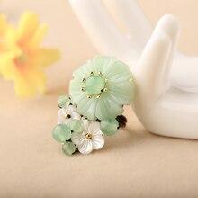 Обручальное кольцо, амулеты в китайском стиле, кольцо с розой, регулируемое кольцо на указательный палец, подарочные аксессуары Для Подружек