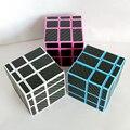 Zcube 3x3x3 Alto Brillo Velocidad Magic Cubes Puzzle Juego Juguetes Educativos para Niños Niños Bebé-Engomada de la Fibra de carbono