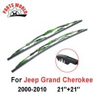 Wiper Blade For Jeep Grand Cherokee 2000 2010 21 21 Auto Windshield Front Glasses Brush Rubber