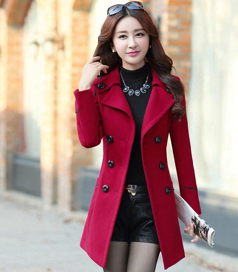 Popular Women Pea Coats-Buy Cheap Women Pea Coats lots from China ...