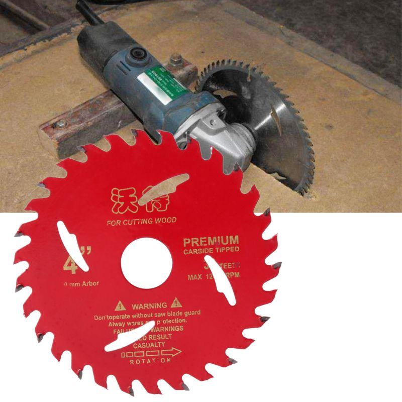 4inch Circular Saw Blade 105mm 30 Teeth Wood Cutting Tool Woodworking Bore Diameter 20mm