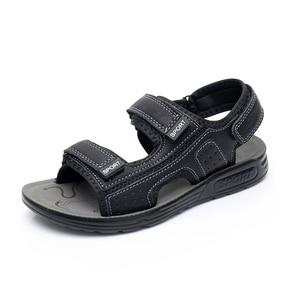 Image 3 - Apakowa 주니어 보이즈 오픈 토 프트 3 스트랩 스포츠 샌들 키즈 여름 해변 워킹 워터 슈즈 old Teens Boy Outdoor Footwear
