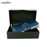 CaseKey Antitheft High Quality Metal Men Card Holder RFID Aluminium Credit Card Holder With RFID Blocking