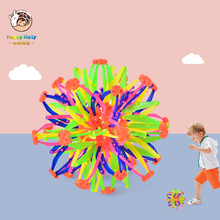 Happymaty Baby Telescopic ball Flowering Shrinking Ball Magic Becoming Bigger and Smaller ThrowBall Toys for Children