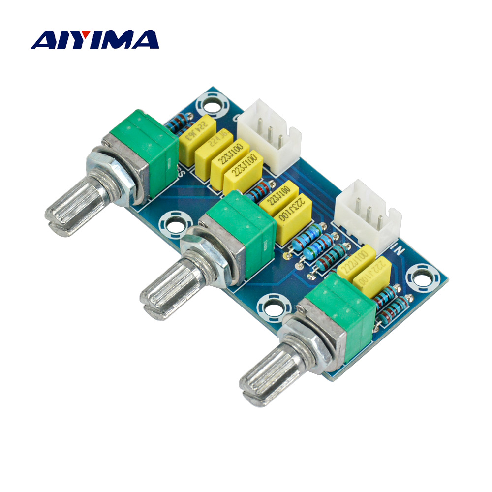 AIYIMA Passive Tone Board Hifi Bass Treble Volume Control Adjustment Preamplifier Preamp Board