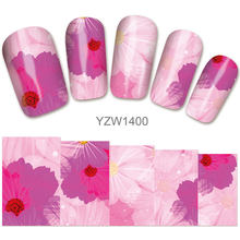 2018 New Models, Watermark Stickers, Chrysanthemums, Small Fresh Nail Applique, Stickers.Hot Selling Goods YZW1400