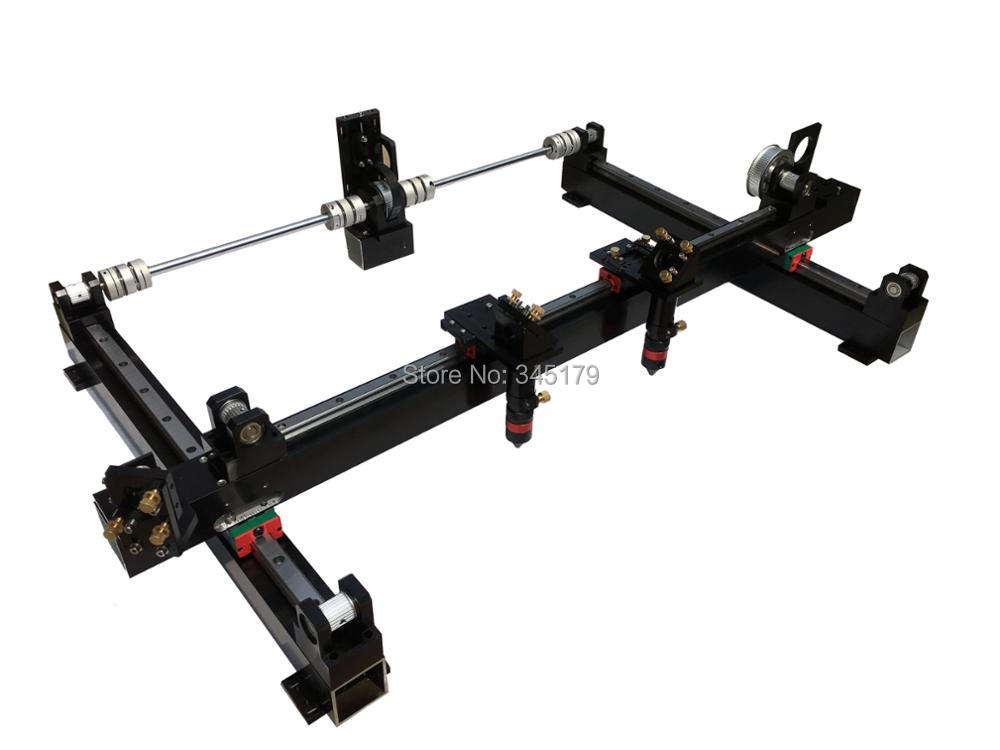 DIY Assembly 1310 One And Two Head Co2 Laser Engrave Machine Including Linear Guide All Laser