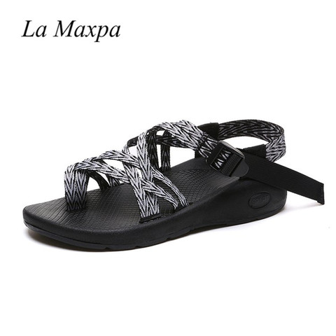 Women Bohemia Sandals Ethnic Style Sandals  Gladiator Flats Shoes Buckle Strap Sandals Zapatos Mujer Tacon 2018 Chaussures Femme Karachi