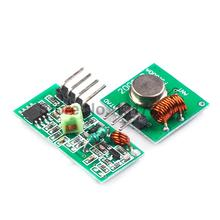 2pair (4pcs)433Mhz RF Transmitter and Receiver link kit for Arduino/ARM/MCU WL Best prices