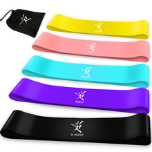 Resistance Bands Fitness Gum Rubber Band Elastic Gym Strength Training Loop Workout CrossFit Equipment