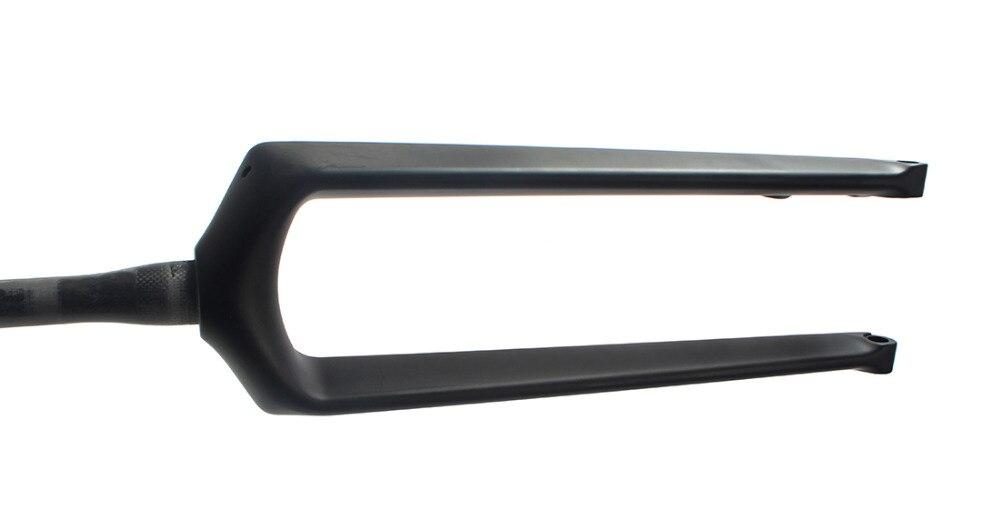 29er Thru Axle Carbon Fork Disc MTB UD Matte Mountain Bike Tapered Rigid Forks