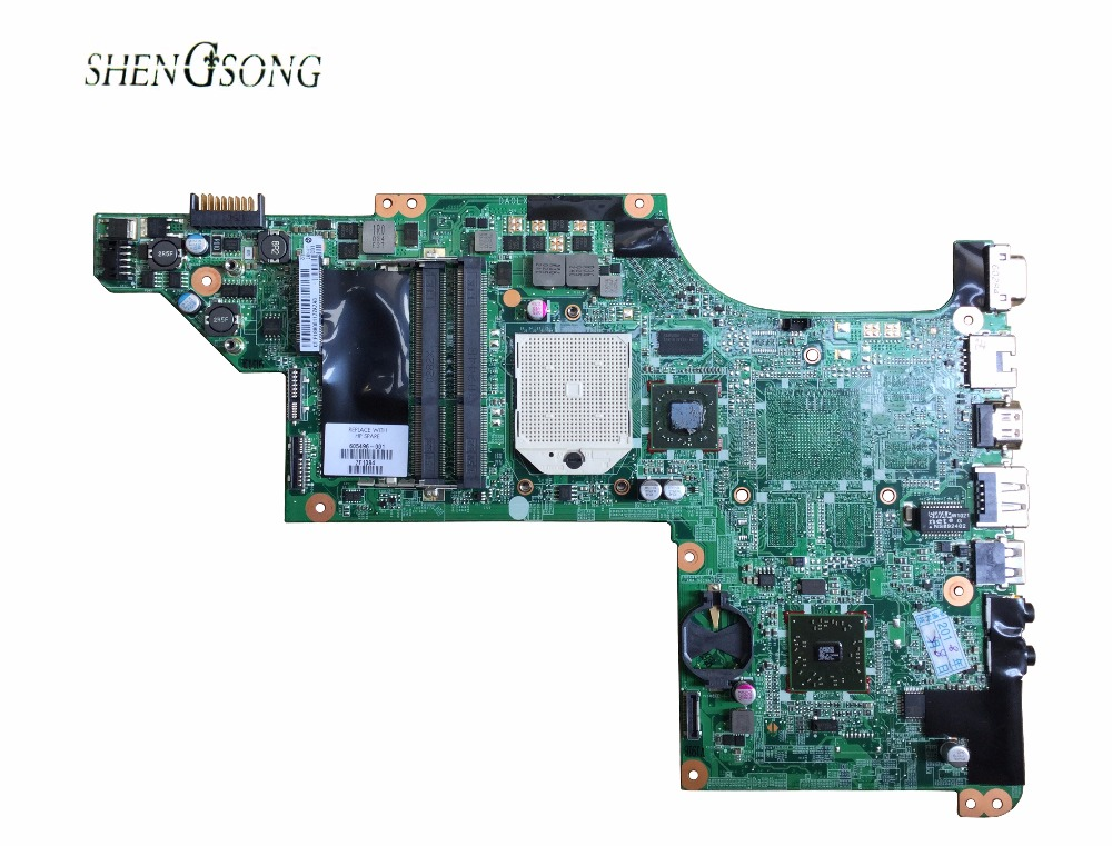 laptop Motherboard for hp DV7 DV7-4000 605496-001 Motherboard DAOLX8MB6D1 notebook mainboard Free Shipping, цена и фото