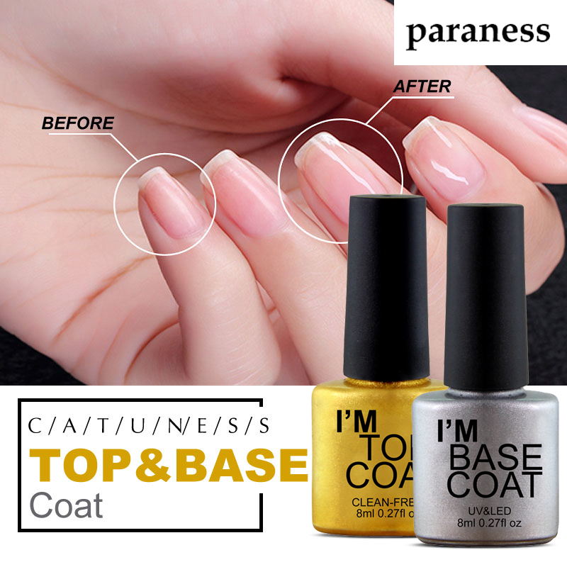 Paraness Top It Off Base Coat Foundation For UV Gel Nail