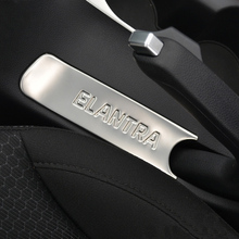 stainless steel For hyundai elantra 2016 2017 interior change Private with the handbrake strip trim accessories car-styling 1pcs