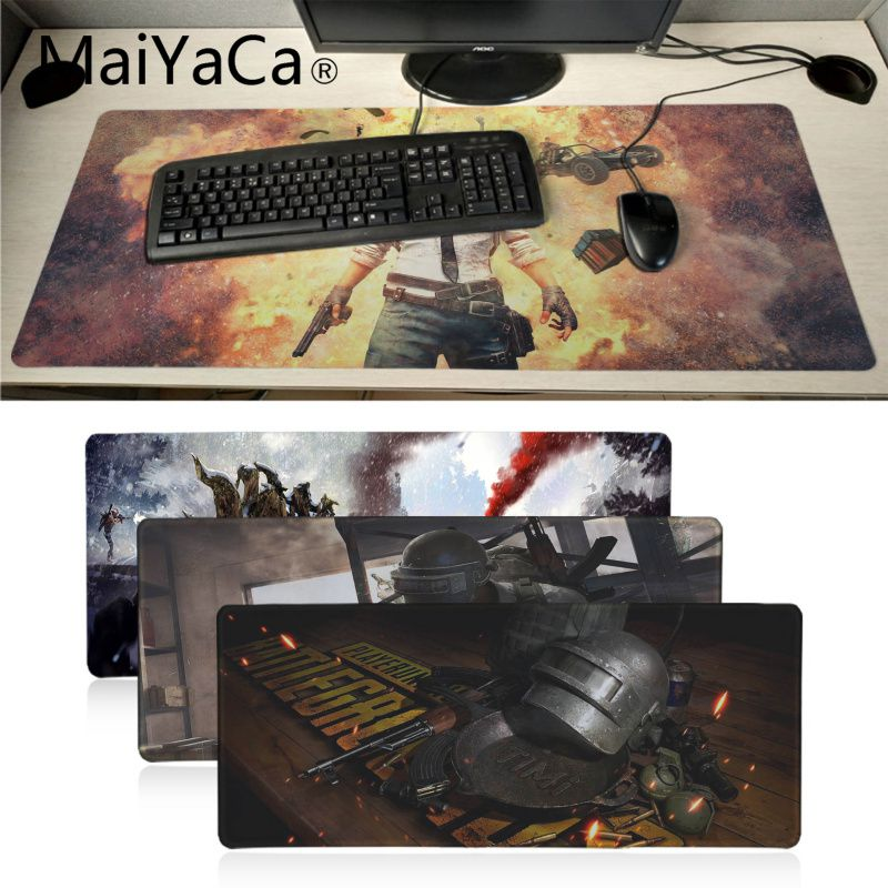 Maiyaca PUBG Playerunknown's Battlegrounds Gaming Pad Game Mousepad Laptop PC Gaming Mat Large Mouse Pad Gamer Pad Mouse