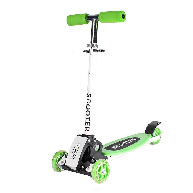2019 pliant enfants enfant baie flash scooters voiture bébé marcheur voiture enfants hauteur réglable planche à roulettes dérive voiture luge - 5
