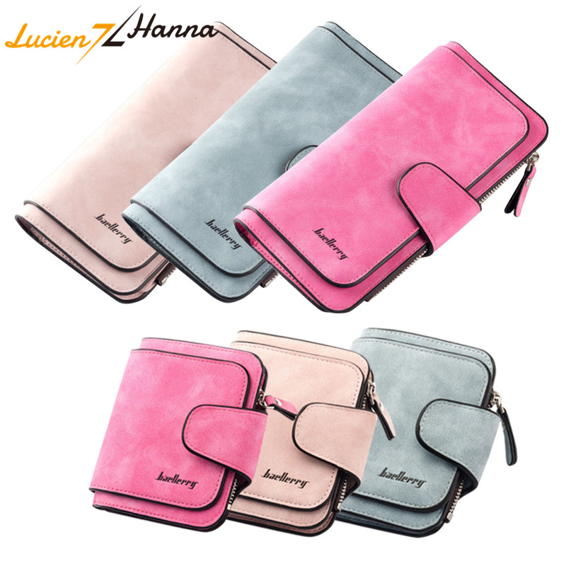 Brand Wallet PU Leather Wallet Women Purse Wallet Female Coin Purse Credit Card Holder Short Lady Clutch Purse Carteira Feminina
