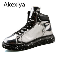 Akexiya hombres zapatos casual vintage lace up front casual zapatos de los hombres nuevos zapatos de los hombres sólidos de moda hombre zapatos planos del talón
