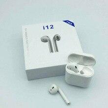 Мини i12 TWS i9 i9s беспроводной Bluetooth наушники стерео вкладыши гарнитура с зарядным устройством Mic для Iphone Xiaomi все смартфон