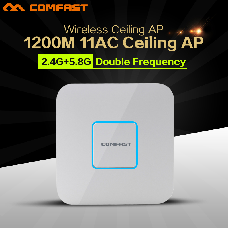 2pcs 1200Mbps ac WI-FI router 2.4G+5Ghz 802.11AC Wi fi Access Point AP routers extender Signal Booster Amplifier openWRT 48V POE wi fi роутер mi router 3
