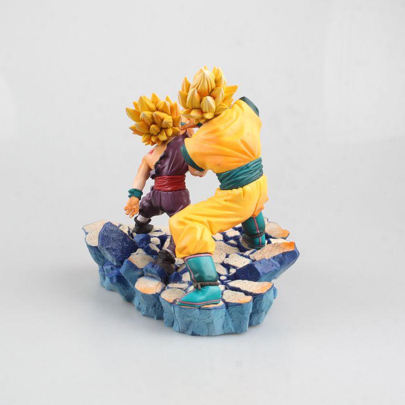 Figurine Dragon Ball Z Super Saiyan fils Goku fils Gohan PVC figurine modèle enfants jouets poupée 17 cm - 4
