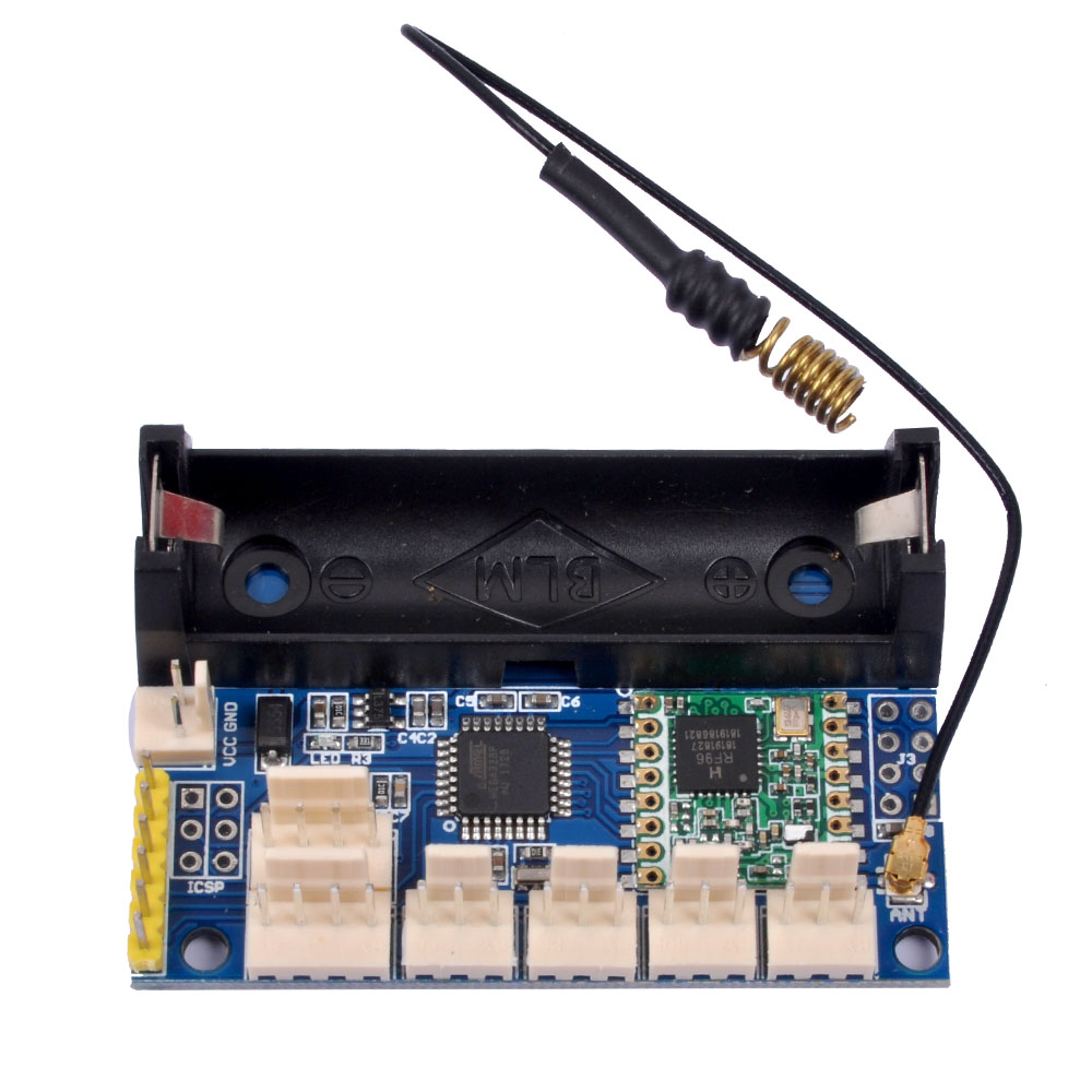 US $48 49 |2PCS LoRa radio node 1 0 915 MHz RFM95 SX1276 wireless node  module #Hbm0090-in Integrated Circuits from Electronic Components &  Supplies on