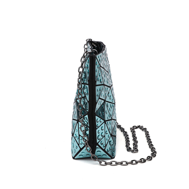 Women's Clutch Chain shoulder hologram bag  1