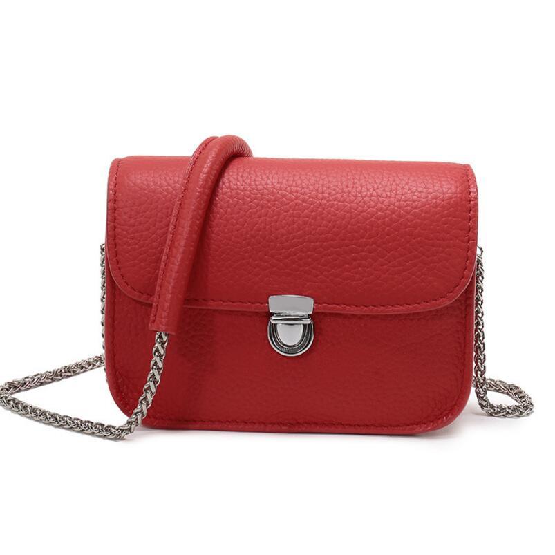 FoxTail & Lily Lock Small Flap Bag Chain Handtassen echt leer Dames - Handtassen - Foto 3