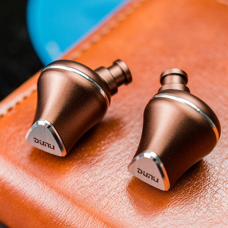 Image 2 - DUNU TITAN 6 T6 Hi Res 12.6mm Beryllium Diaphragm Dynamic Driver HiFi Audio In ear Earphone IEM catch hold mmcx connctor Titan6Earphones   -