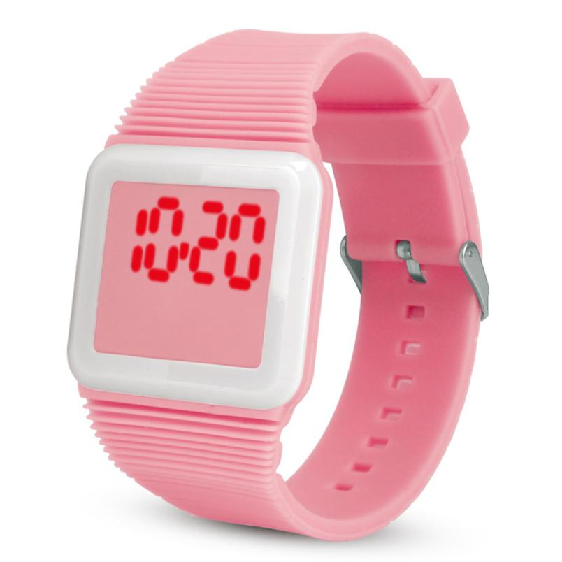 Boys And Grils Electronic Sports Watch Fashion Creative Children Girls Analog Digital Waterproof Watch Clock Gift L201913 High Quality And Inexpensive Children's Watches