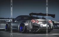 Fit for TOYOTA Subaru GT86 carbon fiber rear spoiler rear wing