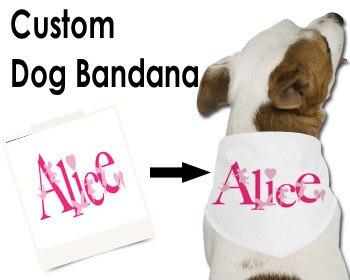 Us 15 0 Diy Dog Bandana Print Your Photo Text On Large Medium Small Custom Size Slip On Collar Bandanas Unique Dog Cat Clothes In Dog Collars