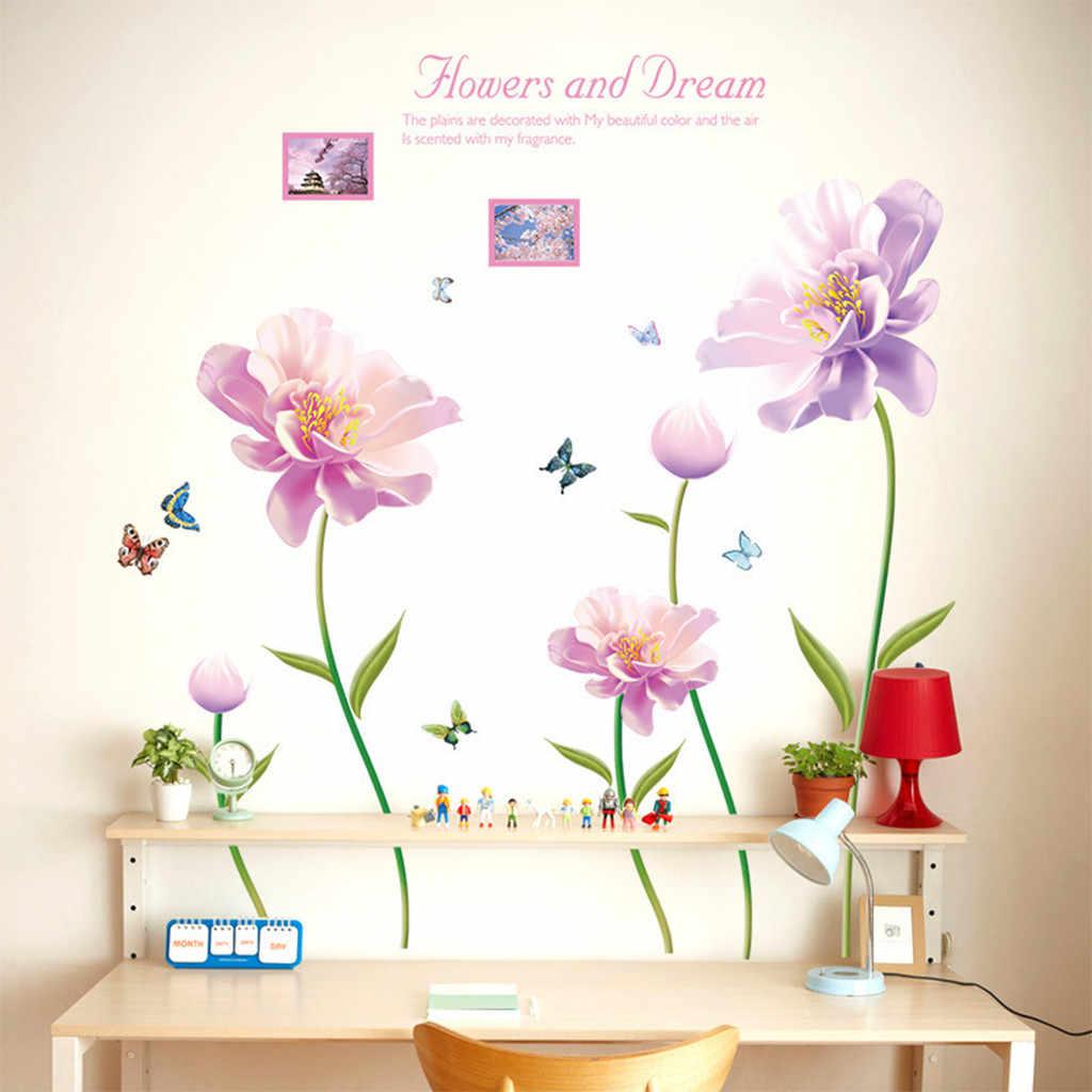 Cute Feather Shaped Wall Sticker Decal Vinyl Art Kid Girls Room Decor Mural