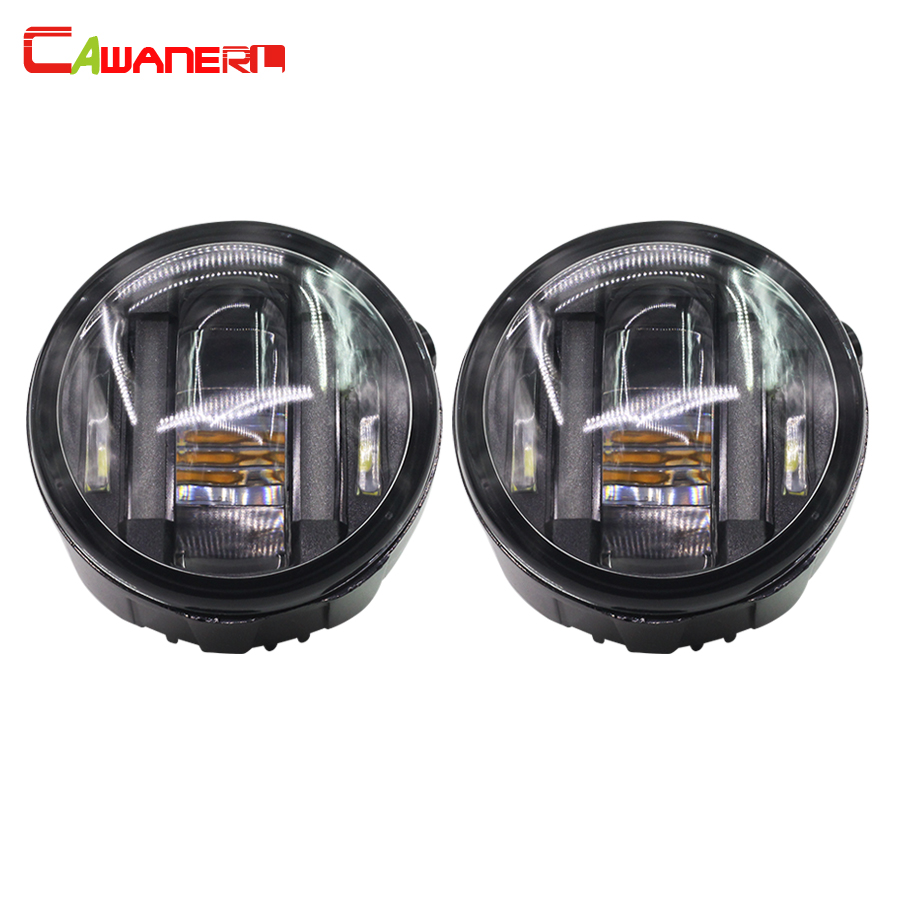 Cawanerl 2 X Car LED Fog Light Daytime Running Lamp DRL 12V Styling For Infiniti EX35 FX35 FX45 FX50 G25 G37 for infiniti fx35 37 45 50 ex35 37 h11 wiring harness sockets wire connector switch 2 fog lights drl front bumper led lamp