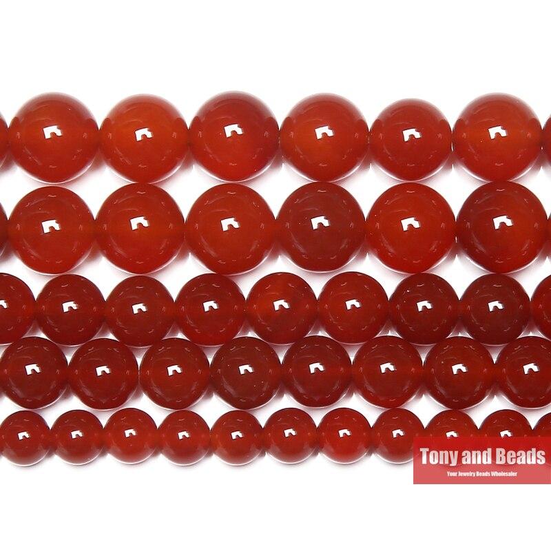 frete-gratis-red-Agatas-cornalina-rodada-joia-beads-15-strand-4-6-8-10-12-mm-escolha-tamanho-para-fazer-joias