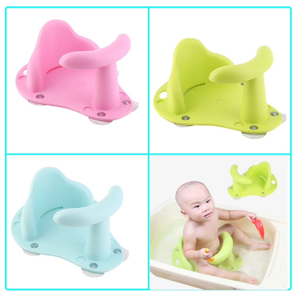 Baby Bath Tub Ring Seat Infant Child Toddler Kids Anti Slip Safety ...