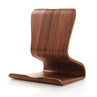 Myvision Ultra Thin Lightweight Protable Wooden Tablet Computer Holder Stand Support For IPad Tablet PC