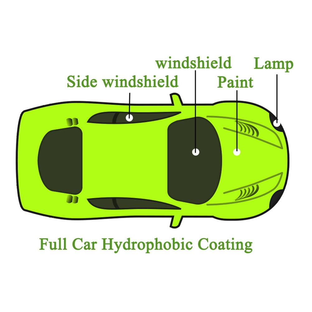 Hgkj-7 Full Car Hydrophobic Coating Film Glass Car Paint Universal Hydrophobic Coating Rain Repellent Suitable For Men And Women Of All Ages In All Seasons Motorcycle Accessories & Parts Engines & Engine Parts