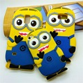 3D Minions Silicone Case Cover For Samsung Galaxy S Trend Grand Duos Plus S7562 S3 S4 S5 S6 S7 Edge A3 A5 G530 5S 6S Gel Cases