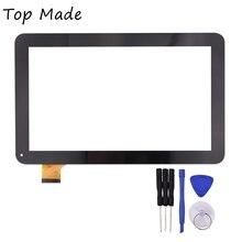 10.1 pulgadas YCF0464-A para TURBOPAD 1014 Digma ids10 Panel de la Pantalla Táctil Capacitiva de la pantalla Táctil Digitalizador