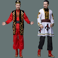 chinese national costumes for men Sinkiang clothing national dance costumes for men Uyghur nationality festival dance
