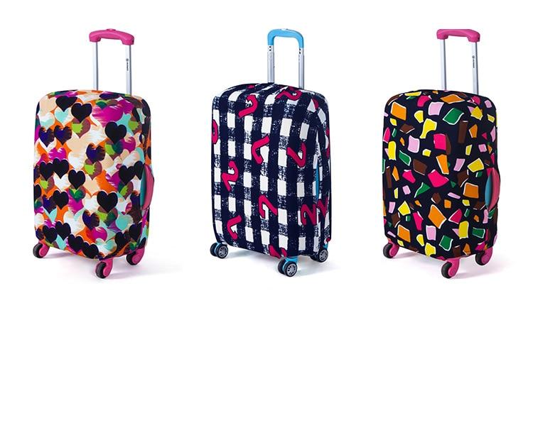 Alta qualit viagem elasticidade moda bagagem capa