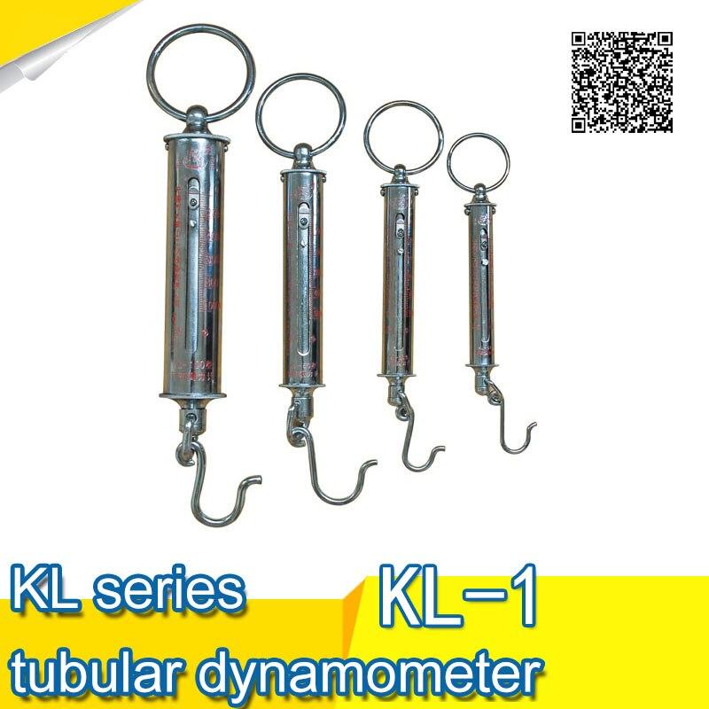 Force Measuring Instruments : Kl series tubular dynamometer force gauge in