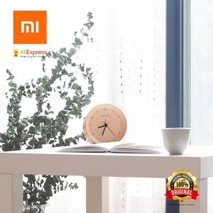 Image 5 - Xiaomi에 대한 시간 알람 시계 천연 나무 미니멀리스트 홈 장식 알람 시계 xiaomi 러시아에서 보내기