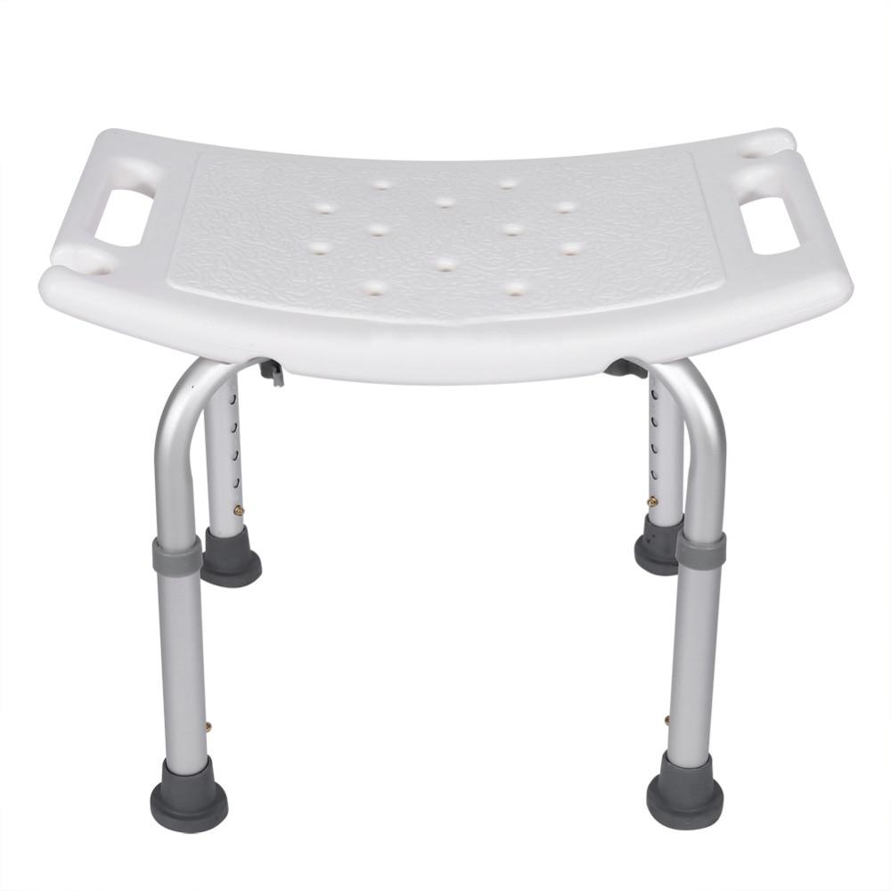 dusche hocker rechteckigen bad hilfe sitz stuhl ohne zurck gesundheitswesen duschsitz lightweight einstellbare badewanne sitz in dusche hocker rechteckigen - Sitz Stuhl Fur Dusche