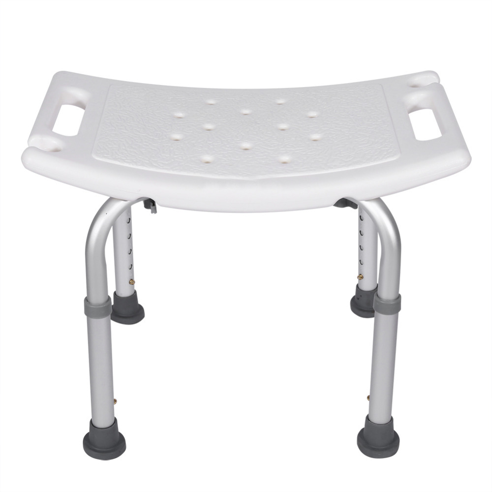 chair without back small bedroom aliexpress com buy shower stool rectangular bath aid seat health care lightweight adjustable tub hardware from