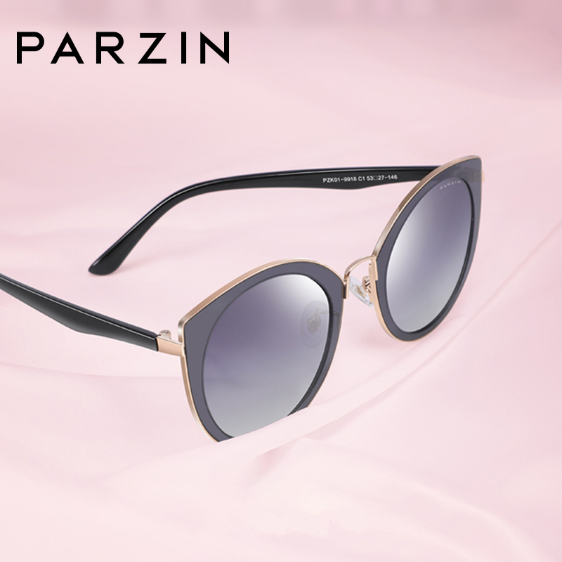 Image 4 - PARZIN Sunglasses Women Polarized lightweight TR90 Frame Brand Designer Coating Mirror Lens Women's Sunglasses Ladies With Case-in Women's Sunglasses from Apparel Accessories